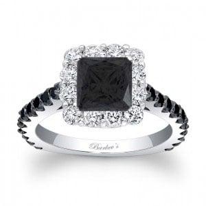 7939lbkw_with black princess cut diamond