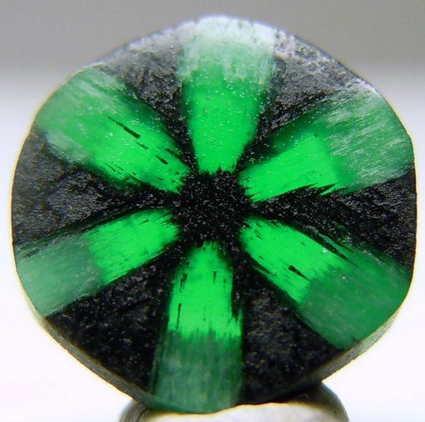 A Trapiche emerald.