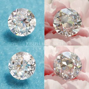 Radiance® Transitional cut moissanite_vs OEC cut-square-1000px