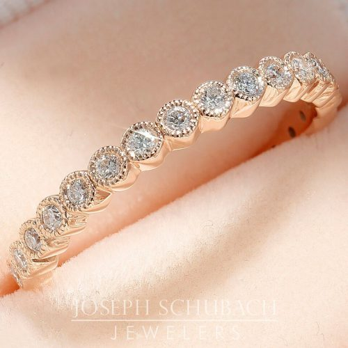 Anniversary or stackable wedding band.