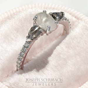 Salt and pepper three stone rose cut engagement ring_11-34x1000