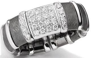 Barack-Obama-rhodium-diamond-ring