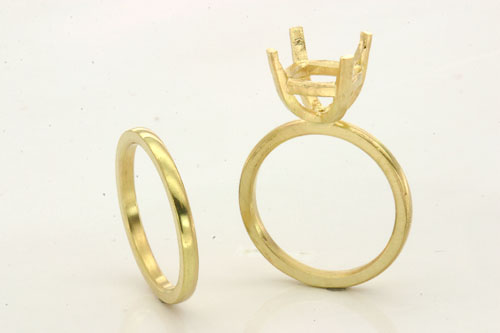 Hand-Fabricated…gement-ring